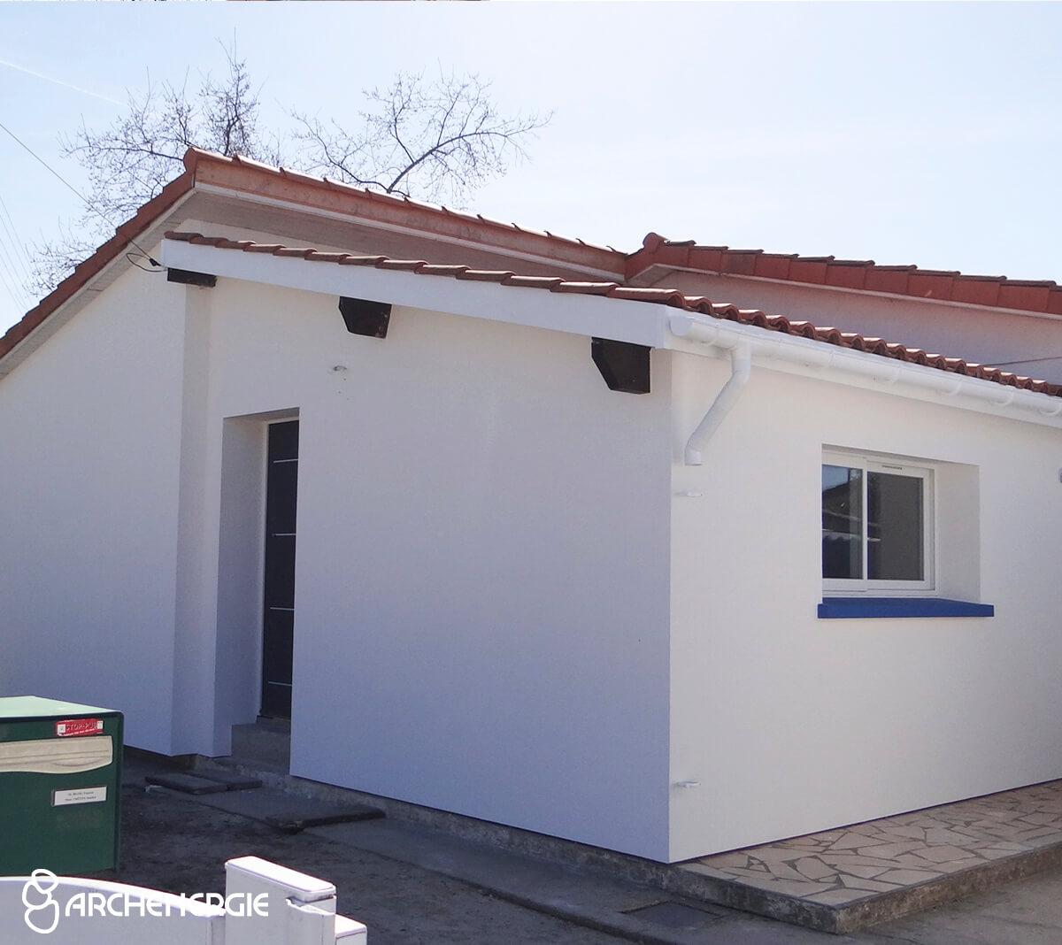 Maison villenave d'Ornon (33) après ITE
