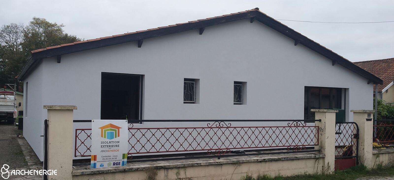 Rénovation globale d'une maison à Cestas (33)