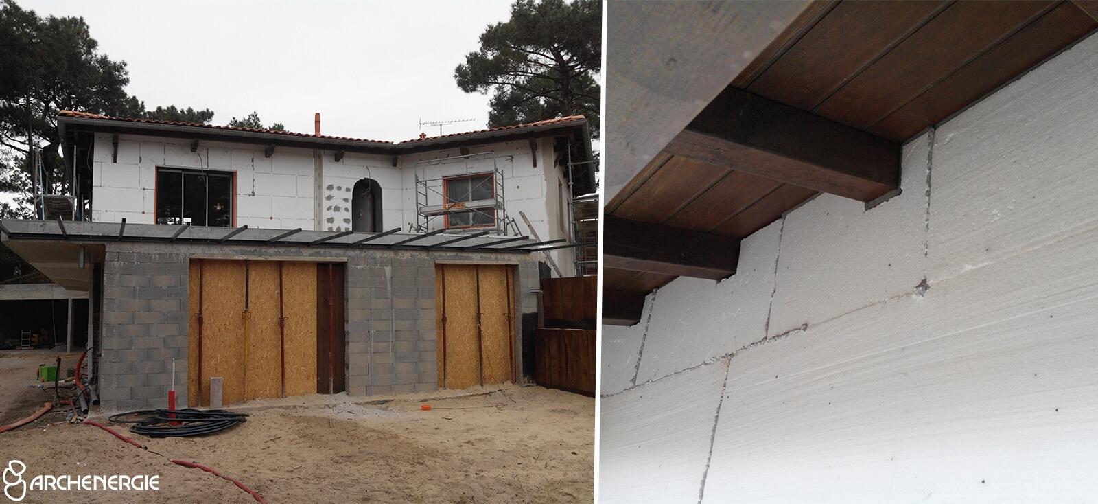 Rénovation globale d'une villa au Cap Ferret