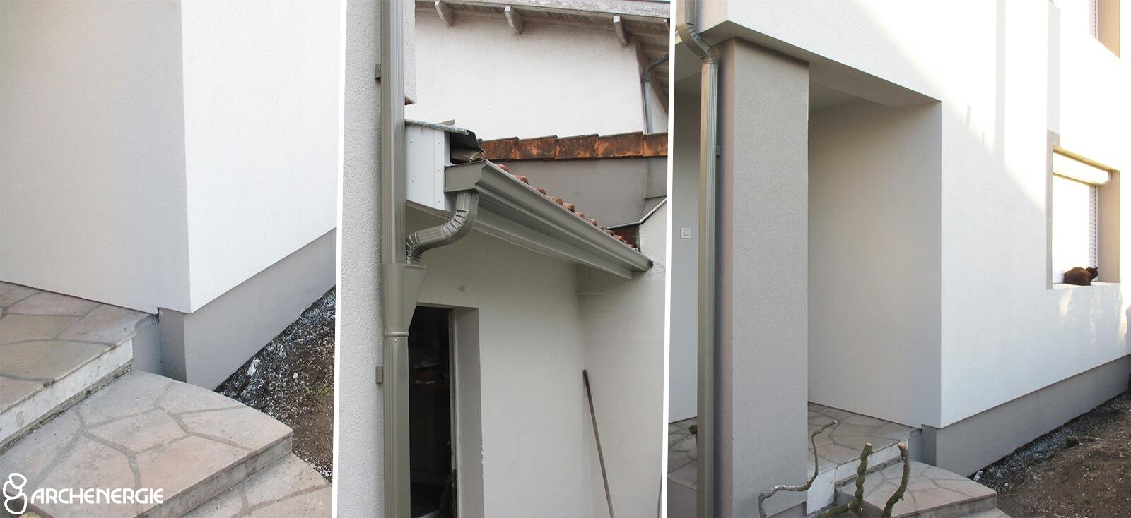 Isolation extérieure Bruges (ITE) - Archenergie