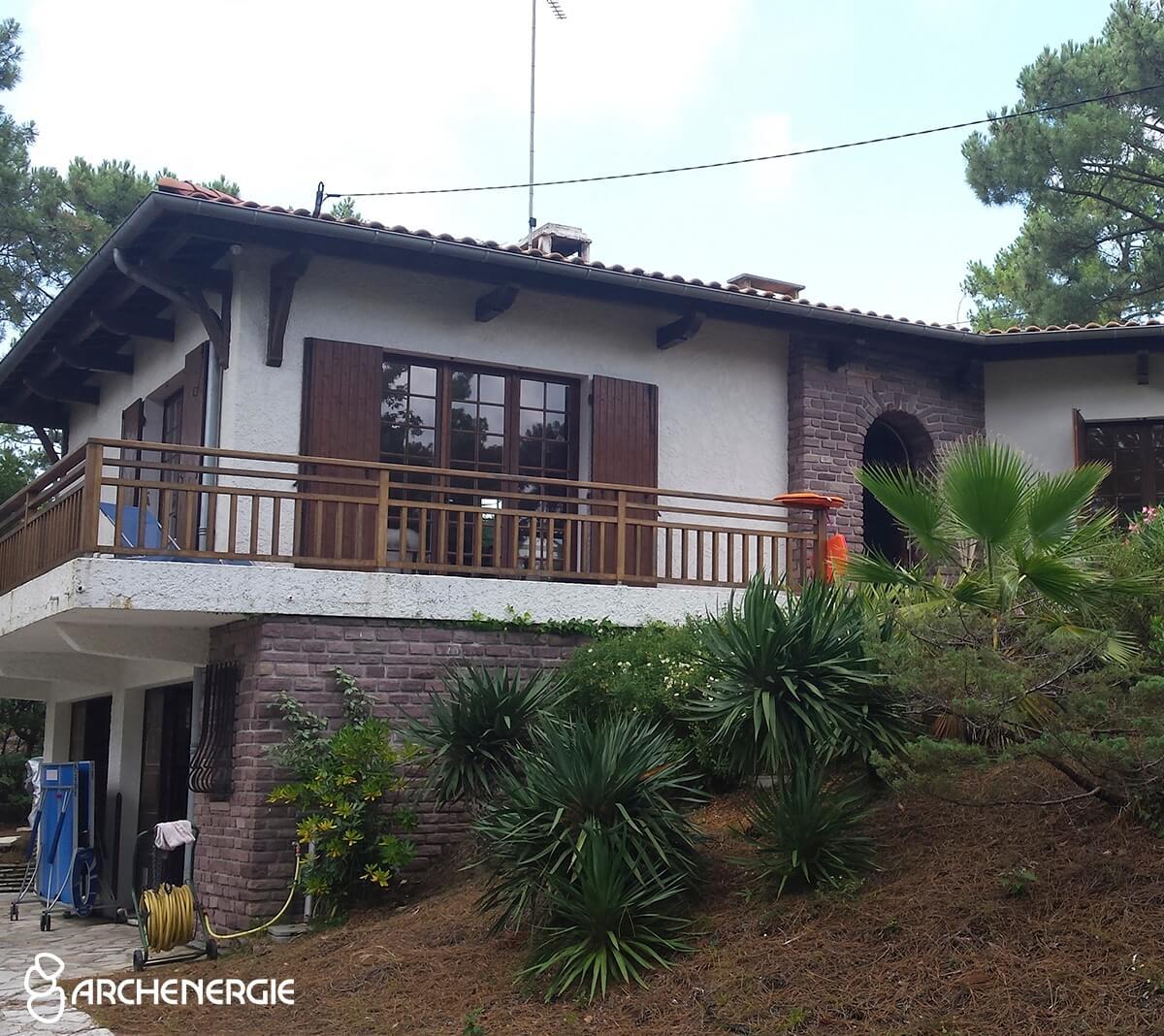 Villa Cap Ferret avant ITE