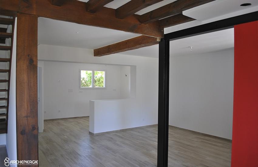Extension maison Andernos - Archenergie