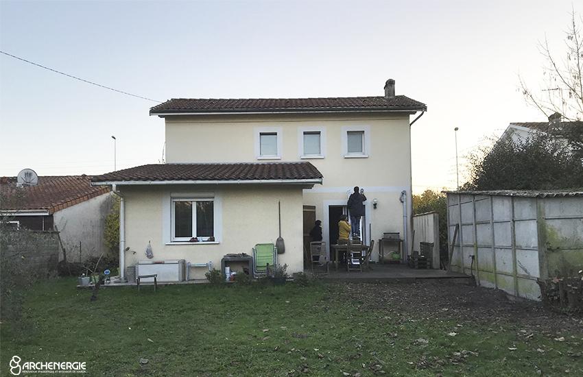 Extension de maison à Pessac - Etat initial