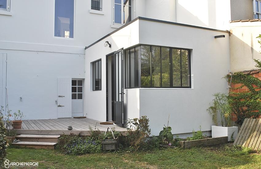 Extension maison au Bouscat