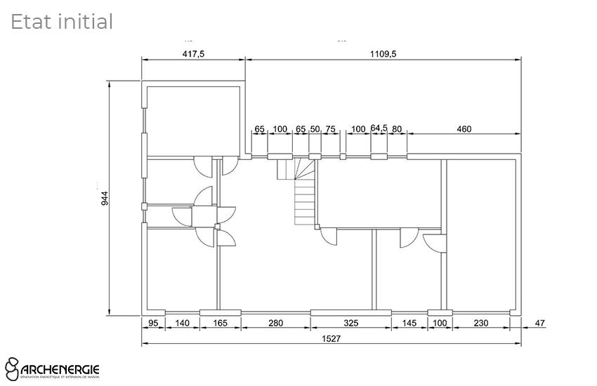 Plan extension Archenergie