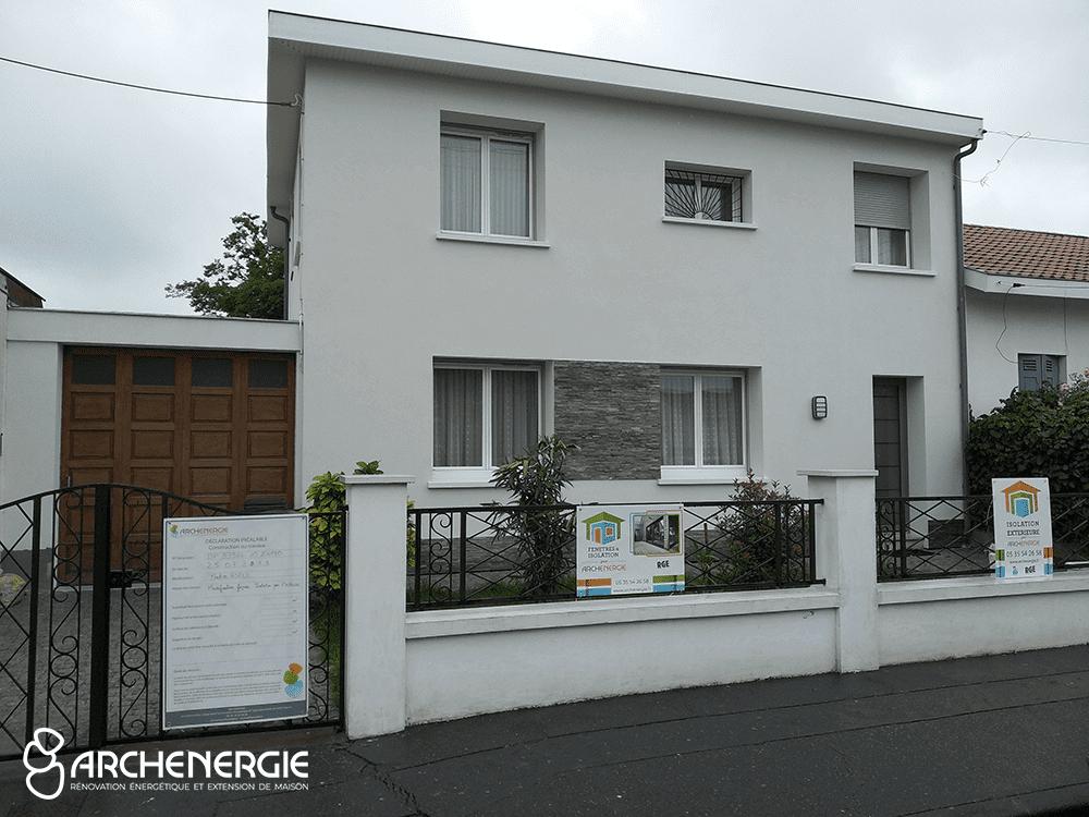 Rénovation maison Talence