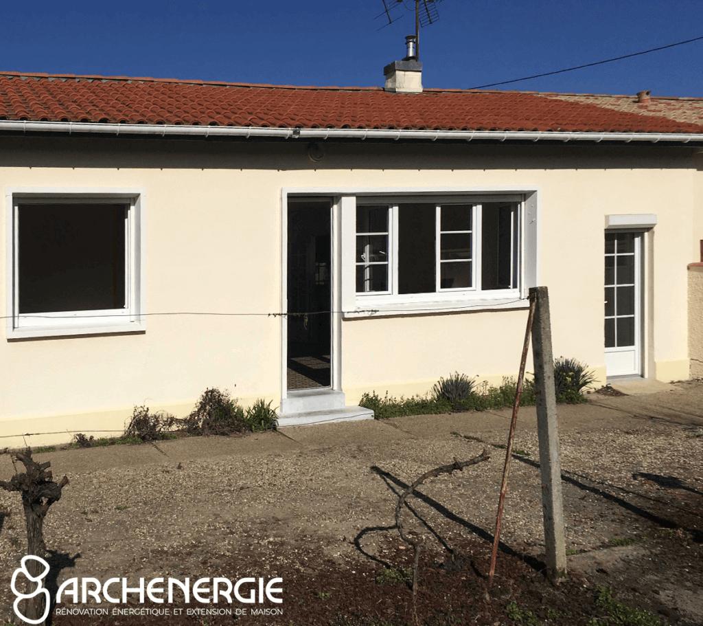 Extension et rénovation globale maison castor