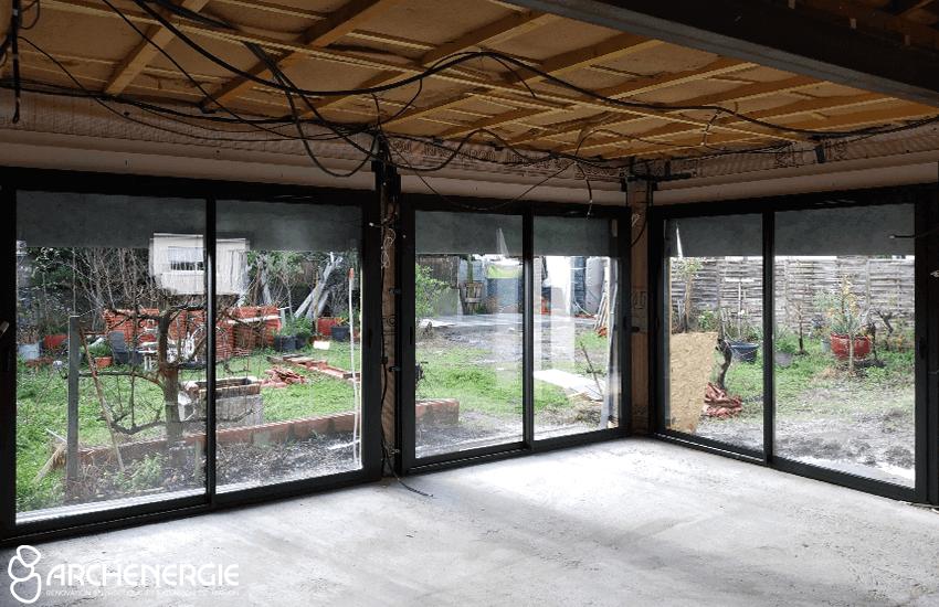 Menuiseries baies vitrées