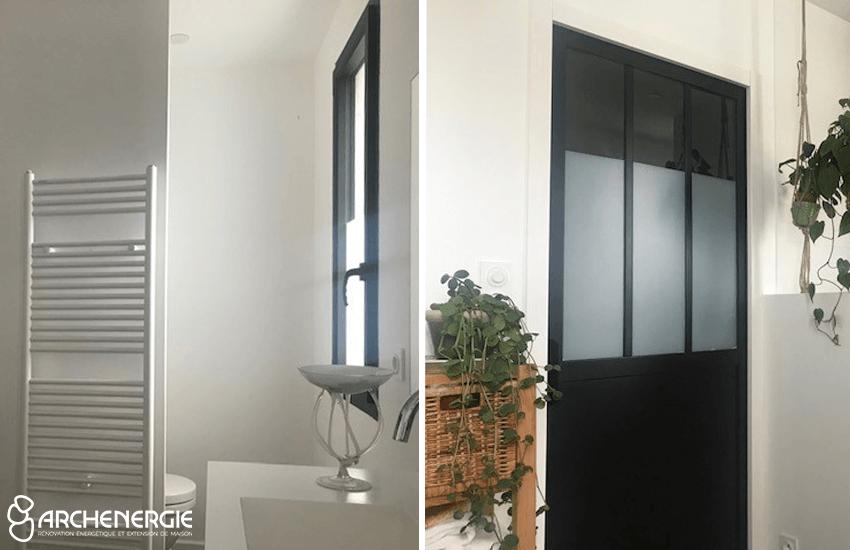 salle de bain extension
