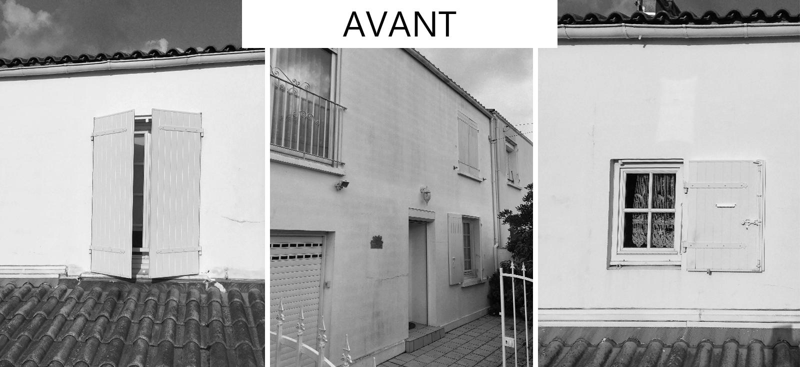 Avant rénovation maison La Rochelle