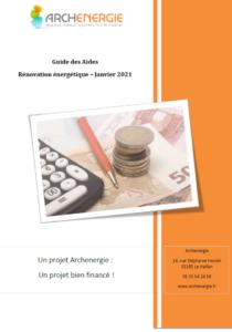 Couverture guide des aides et financements
