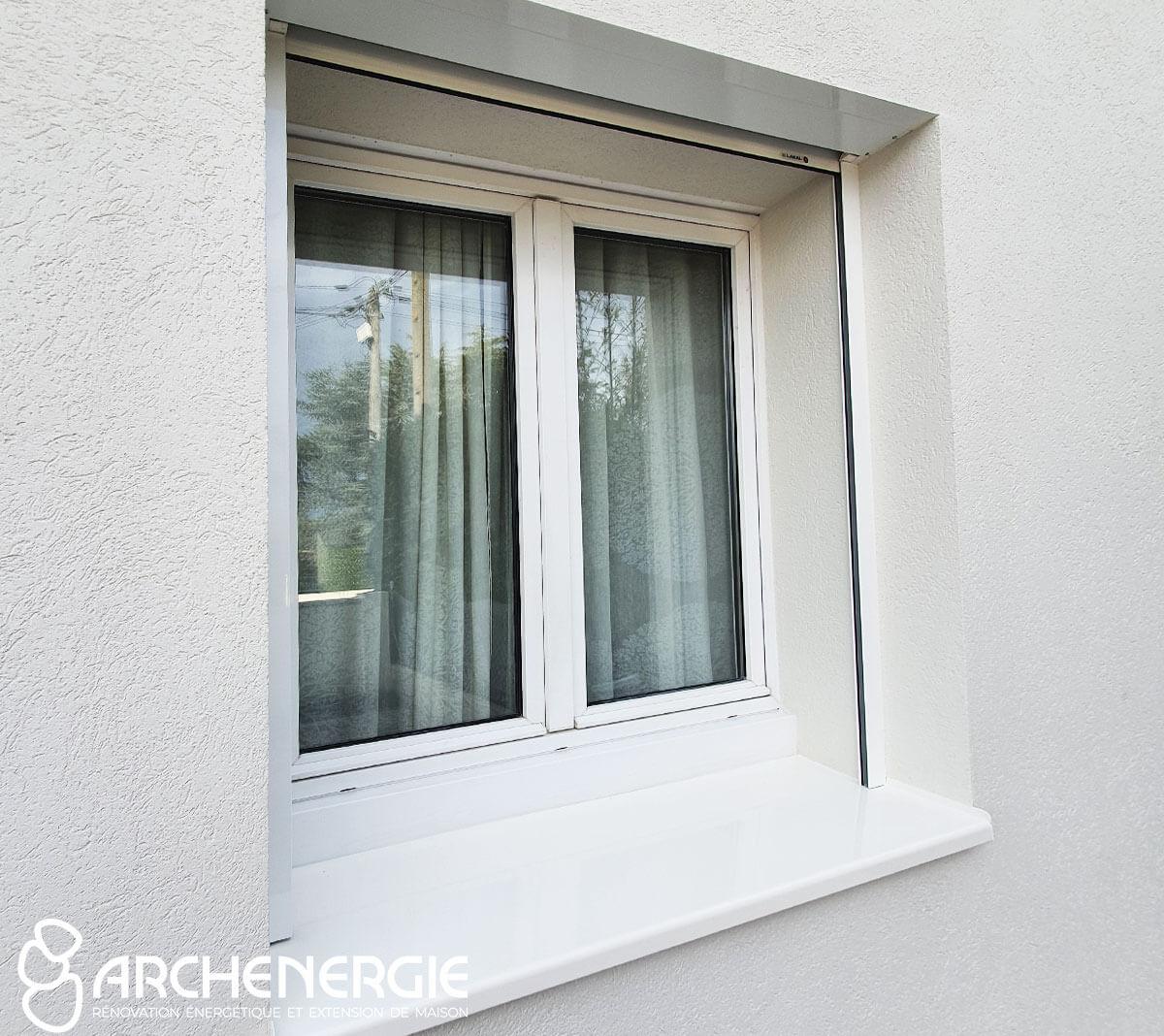 menuiserie fenêtre volet